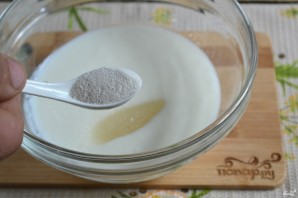 Тесто для хачапури на кефире - фото шаг 3