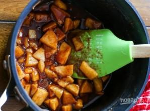 Печеные яблоки в тесте - фото шаг 1