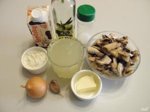 Крем-суп из шампиньонов со сливками - фото шаг 1