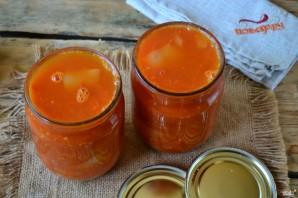 Перец в томатном соке на зиму - фото шаг 8
