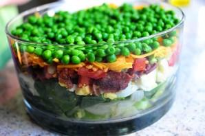 Очень вкусный слоеный салатик - фото шаг 11