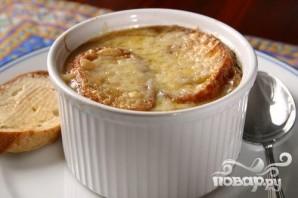 Традиционный французский луковый суп - фото шаг 5