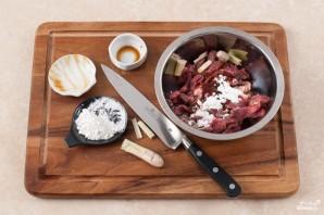 Мясо с базиликом - фото шаг 2