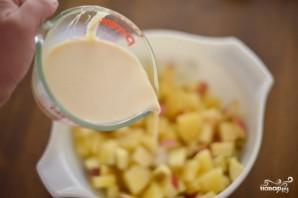 Фруктовый салат со сгущенкой - фото шаг 4
