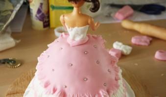 """Торт """"Кукла"""" - фото шаг 11"""