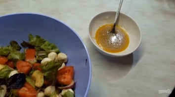 Салат с авокадо (летний, легкий) - фото шаг 3