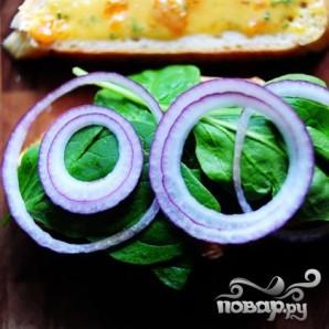 Горячие бутерброды с курицей и абрикосовым соусом - фото шаг 12