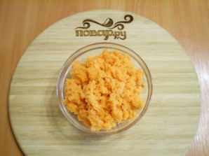Морковная запеканка на скорую руку - фото шаг 2
