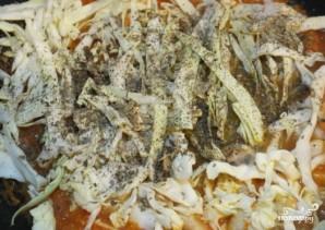 Шампиньоны тушеные с овощами - фото шаг 5