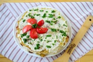 Кабачковый торт с помидорами - фото шаг 15