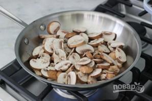 Салат из фасоли с грибами - фото шаг 1