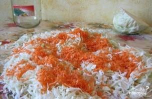 Быстрая засолка капусты в домашних условиях - фото шаг 2