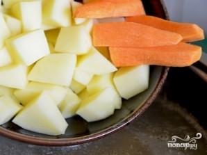 Куриный суп без зажарки - фото шаг 2