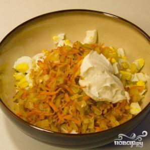 Салат из мяса краба - фото шаг 5