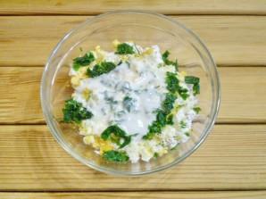Салат из творога с зеленью - фото шаг 5