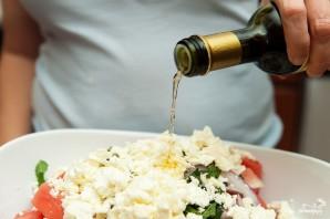 Салат с арбузом и фетой - фото шаг 4