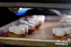 Печенье с шоколадом и маршмэллоу - фото шаг 5