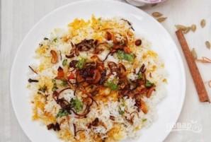 Рыба с пряным рисом и орехами - фото шаг 9