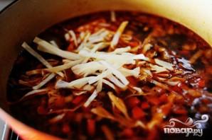 Итальянский суп с фрикадельками - фото шаг 15