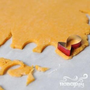 Сырные крекеры-рыбки - фото шаг 4