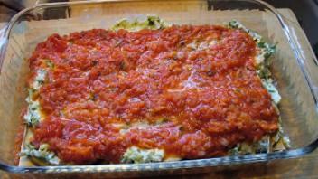 Лазанья с баклажанами и помидорами - фото шаг 6