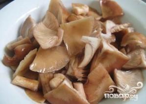 Суп из опят с гречкой - фото шаг 3