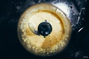 Салат из брокколи и стручковой фасоли - фото шаг 3