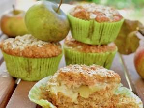 Веганские кексы с яблоками - фото шаг 6