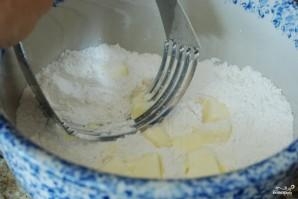 Песочное печенье с ежевикой и взбитыми сливками - фото шаг 2