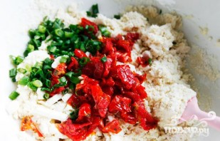 Лепешки с овощами и сыром Фета - фото шаг 2
