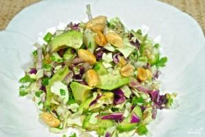 Салат с арахисом - фото шаг 5