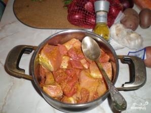 Дамляма из свинины и говядины - фото шаг 4