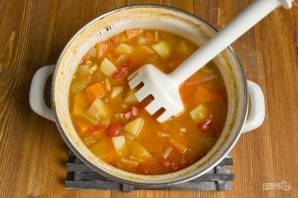Вкусный суп - фото шаг 9