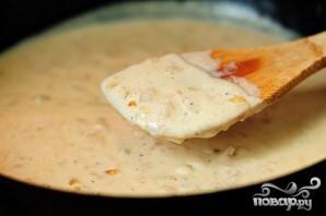 Запеченный сладкий картофель с беконом и сыром - фото шаг 4