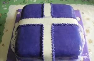 """Торт """"Подарок"""" - фото шаг 16"""