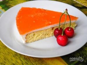 Торт бисквитный с желе - фото шаг 12