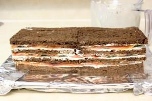 Торт с копченым лососем - фото шаг 6