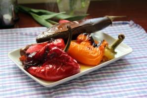Салат с запеченными овощами - фото шаг 2