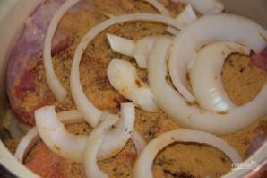 Мясо с горчицей - фото шаг 1