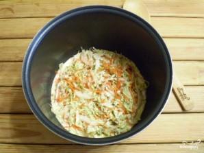 Заливной пирог из капусты - фото шаг 8