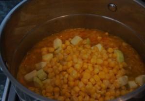 Крем-суп из сладкой кукурузы - фото шаг 6