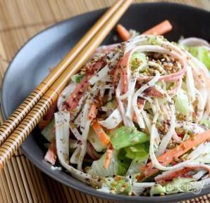 Вкусный салат из крабовых палочек - фото шаг 4