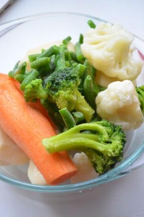Овощное пюре - фото шаг 1