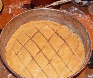 Пахлава с орехами - фото шаг 3