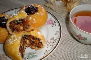 Пирожки с сухофруктами - фото шаг 5