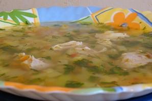Куриный суп с кабачками - фото шаг 4