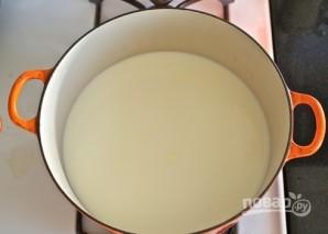 Сыр из коровьего молока своими руками - фото шаг 1