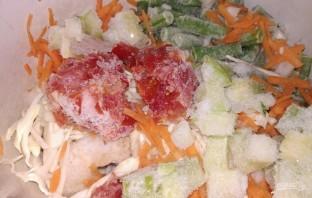 Курица, запеченная с овощами, по диете Дюкана - фото шаг 7