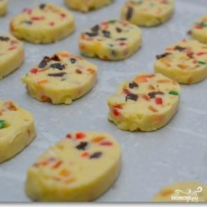 Рождественское печенье с цукатами и орехами - фото шаг 11