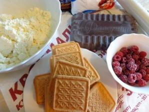 Десерт из печенья и творога - фото шаг 1